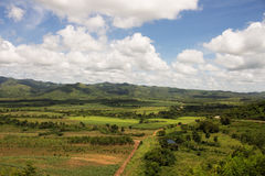 A view of the Valle de los Ingenios. In Trinidad (Cuba Royalty Free Stock Photography