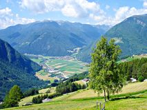 View of the Valle \Tauferer Ahrntal\ Stock Image