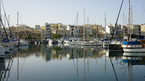 View of Valleta yacht bay, Malta Royalty Free Stock Photo