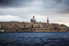 View of Valletta stock photography