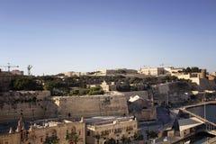 View of Valletta city in Malta. Royalty Free Stock Photo