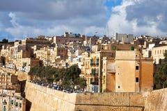 View of Valletta, Malta Stock Image