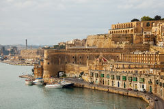 View of Valletta, Malta Royalty Free Stock Photo