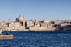 View of Valletta, Malta. Stock Photography