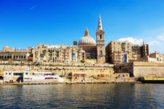 The view on Valletta Royalty Free Stock Photography