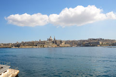 The view on Valletta Royalty Free Stock Images