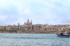 View of Valletta Royalty Free Stock Photography
