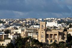 View of valletta malta Royalty Free Stock Photo