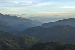 View of Valley from Blewett Pass Royalty Free Stock Photos