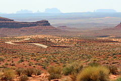 View at Valley of the Gods Stock Image