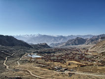View of the valley in the Himalayas Stock Images