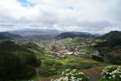 View on valley Las Mercedes Royalty Free Stock Image