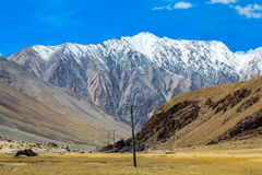 View at the valley in Leh Royalty Free Stock Photos