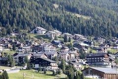 View of the valley, Livigno, Italy Stock Photos