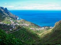 Tenerife north coast Royalty Free Stock Photography