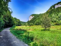 Ojcow National Park near Krakow in Lesser Poland. stock images
