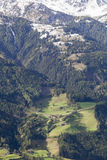 View of valley in the Tirol Royalty Free Stock Photo