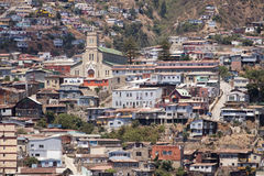 View at Valparaiso Royalty Free Stock Photos