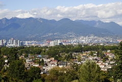 View of Vancouver Stock Images