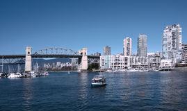 The view in the Vancouver Stock Photography