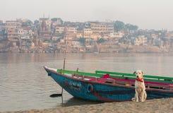 View on Varanasi city Royalty Free Stock Photos