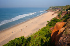View Varkala Beach Royalty Free Stock Images