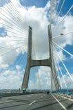 View of the Vasco da Gama bridge Stock Photo