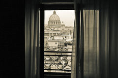 View on the Vatican City. View to the Vatican City Stock Photo