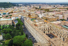 View of Vatican Stock Image