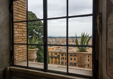 View from Vatican Museums Royalty Free Stock Photos