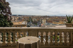 View from Vatican Museums Stock Photo