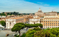 View at Vatican Stock Photo