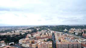 View from the Vatican at Rome Stock Photo