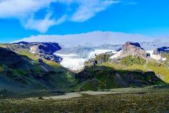View of Vatnajokull or Vatna Glacier Royalty Free Stock Photography