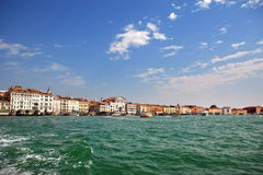 View of Veince from sea Royalty Free Stock Image