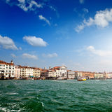 View of Veince from sea Royalty Free Stock Photo