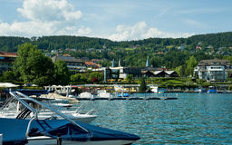 View of Velden Stock Photos