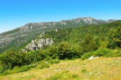 View on Velebit mountains, Croatia. Stock Image