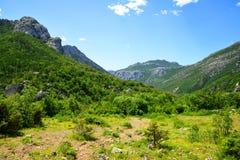 View on Velebit mountains,Croatia. royalty free stock photos
