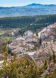 View from Velez Blance Castle Royalty Free Stock Photography