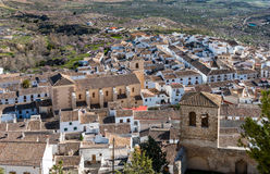 View from Velez Blanco Castle Stock Photography