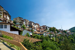 View from Veliko Tarnovo, Bulgaria Royalty Free Stock Photos