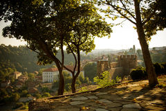View from Veliko Tarnovo, Bulgaria Stock Images