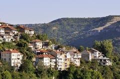 View from Veliko Tarnovo, medieval town in Bulgaria Royalty Free Stock Image