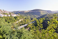 View from Veliko Tarnovo, medieval town in Bulgaria Stock Photography