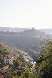 View from Veliko Tarnovo, medieval town in Bulgaria Royalty Free Stock Photography