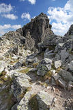 View from Velka Lomnicka veza - peak in High Tatras, Slovakia Stock Images