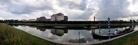 View of the Venaria Reale Royalty Free Stock Images