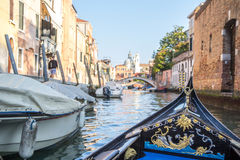 View of Venetian architecture during daylight. Royalty Free Stock Photography