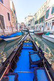 View of Venetian architecture during daylight. Venetian architecture during daylight. Venice, Italy Royalty Free Stock Photos